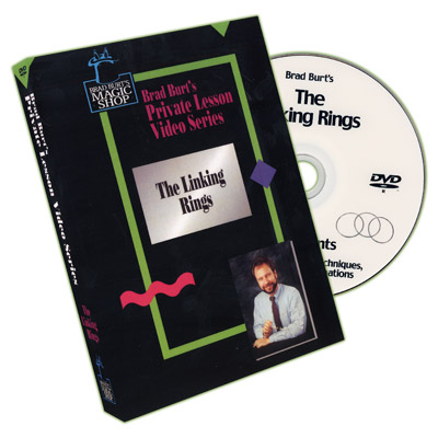 The Linking Rings - Brad Burt, DVD - magic