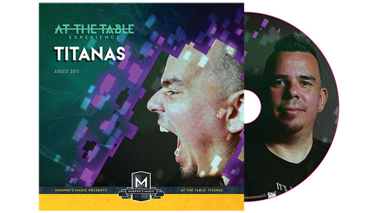 Titanas Live Lecture DVD - magic