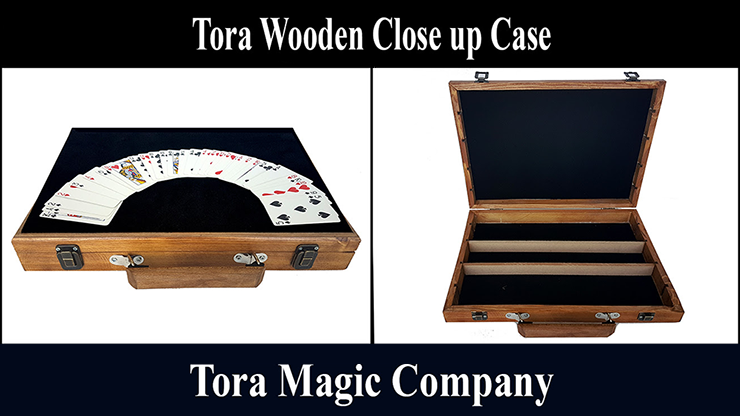 Tora Wooden Close Up Case - magic