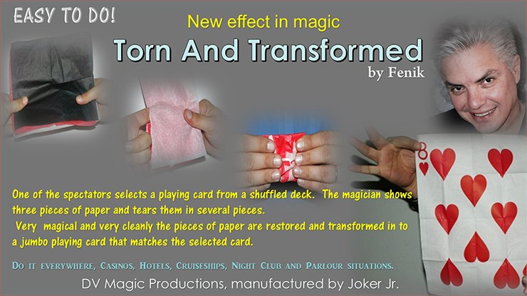 Torn and Transformed - magic