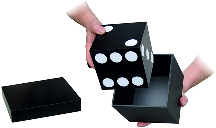 Transforming Cube - magic