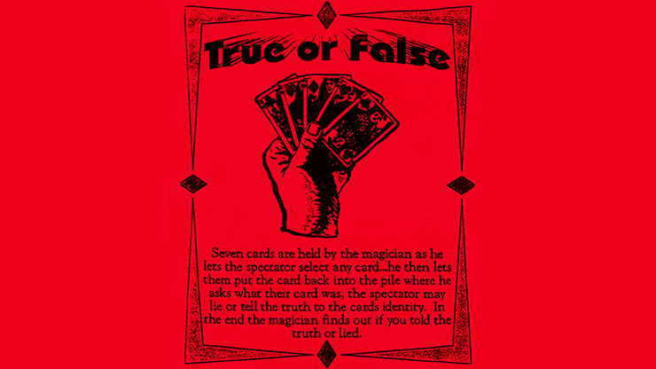 True or False - magic