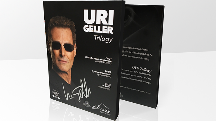 Uri Geller Trilogy (Signed Box Set) - magic