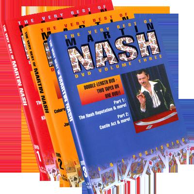 Very Best of Martin Nash (Volumes 1-3) - magic