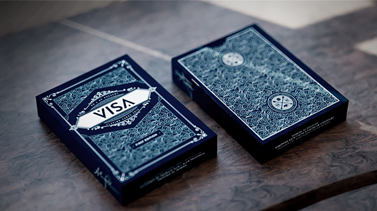 Visa Blue Playing Cards - magic