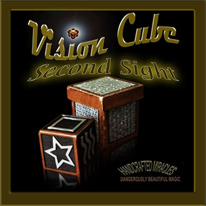 Vision Cube ESP Symbols Second Sight Cube - magic