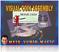 Visual Coin Assembly trick - magic