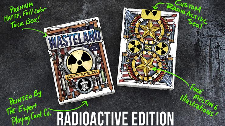 Wasteland Radio Active Edition Playing Cards - magic