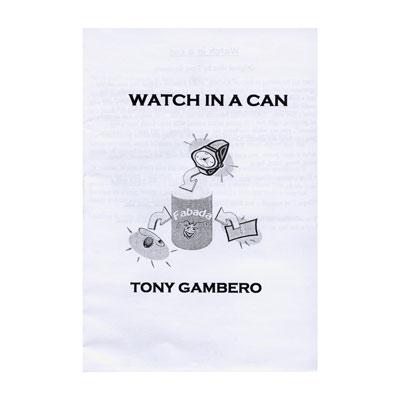 Watch In A Can - magic