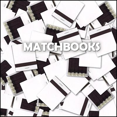 White Matchbooks - magic