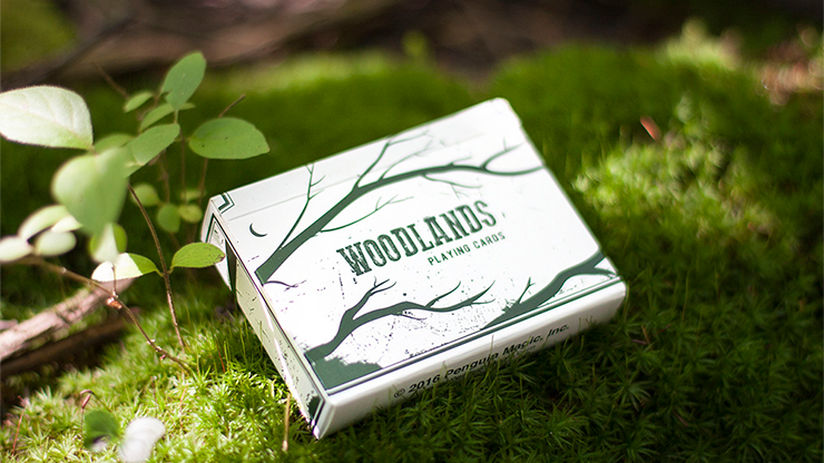 Woodlands Playing Cards - magic