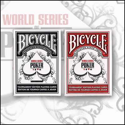 World Series of Poker Cards (6 Decks) - magic