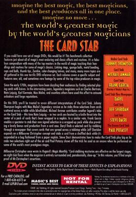 World's Greatest Magic - Card Stab - magic