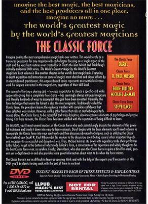 World's Greatest Magic - The Classic Force - magic