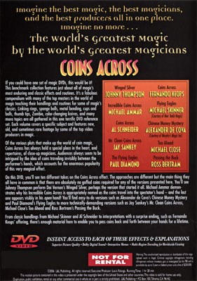 World's Greatest Magic - Coins Across - magic