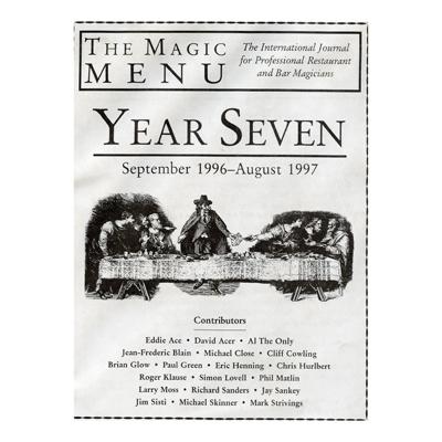 Year 7 : The Magic Menu - magic