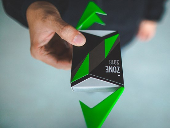 ZONE Playing Cards - magic