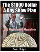$1000 A Day Plan for Magicians Book