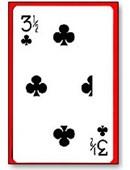 3 1/2 Clubs Card Trick