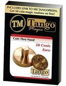 50 cents Euro Thru Hand Trick