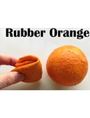 Rubber Fruit - Latex Orange Accessory