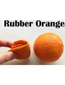 Rubber Fruit - Latex Orange Accessory