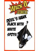 Super Giant Devil's Hank -- Black with Big White Spots Trick