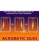 Acrobatic Silks Trick