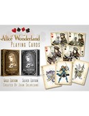 Alice of Wonderland (Gold) Deck of cards