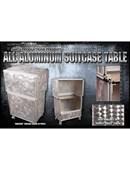 All Aluminum Suit Case Table Trick