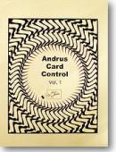Andrus Card Control Book