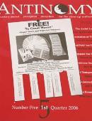 Antinomy Magazine #5 Magazine