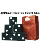 Appearing Dice From Bag Trick