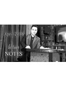 April 2018 Lecture Notes magic by Sandro Loporcaro