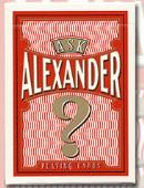 Ask Alexander Playing Cards Deck of cards