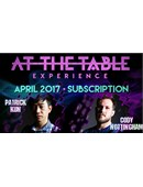 At The Table - April 2017  Live lecture