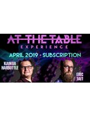 At The Table - April 2019 Live lecture