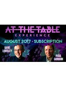 At The Table - August 2017 Live lecture