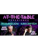 At The Table - December 2016  Live lecture