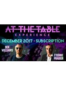 At The Table - December 2017 Live lecture