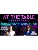 At The Table - February 2017  Live lecture