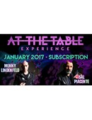 At The Table - January 2017 Live lecture