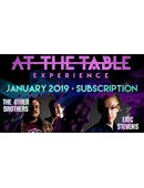 At The Table - January 2019 Live lecture