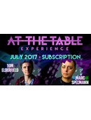 At The Table - July 2017 Live lecture