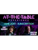 At The Table - June 2017  Live lecture