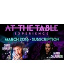 At The Table - March 2016 Live lecture
