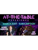 At The Table - March 2017  Live lecture