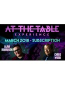 At The Table - March 2018 Live lecture
