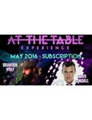At The Table - May 2016 Live lecture
