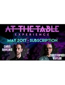 At The Table - May 2017 Live lecture